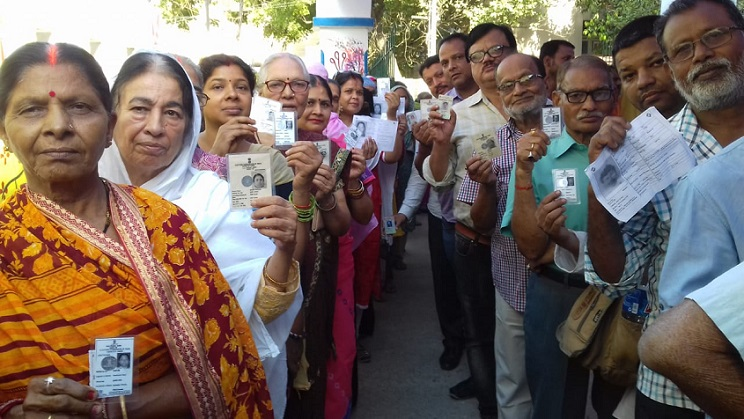 63 % polling recorded in the final phase of Lok Sabha polls