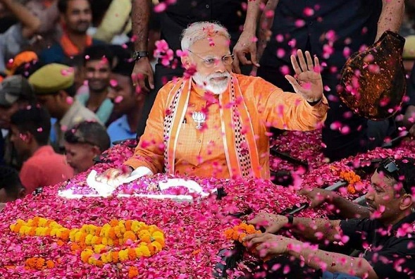 """India Wins Yet Again"", Tweets PM Modi After Big Victory"