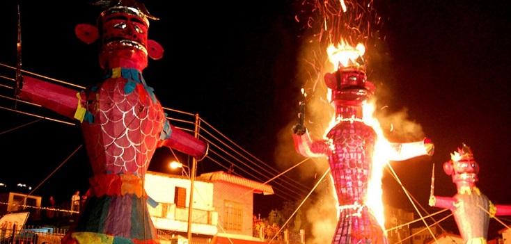 Vijayadashmi being celebrated across country; President, VP, PM greet people