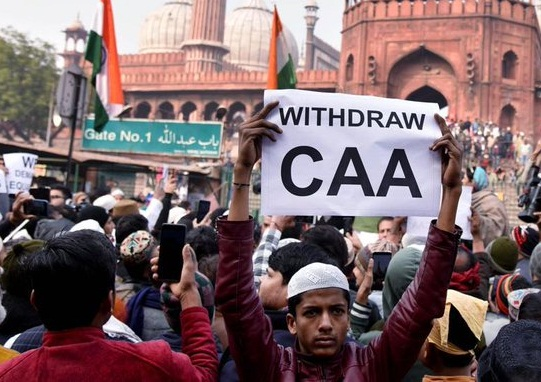 Anti-CAA protesters detained at Delhi Turkman Gate