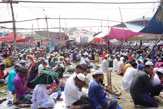 2nd Largest Muslim Congregation, Bishwa Ijtema begins in Bangladesh