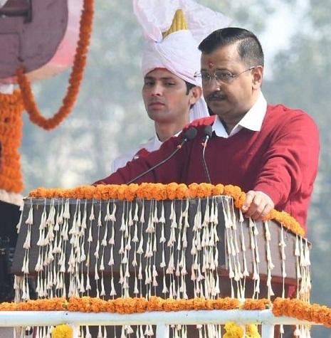 Kejriwal sworn in as Delhi CM for 3rd time; promises politics of Development
