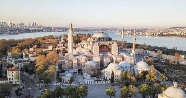 Comparison between Babari Masjid with Hagia Sofia is illogical ...