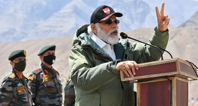 Era of expansionism is over, thunders PM Modi in Laddakh