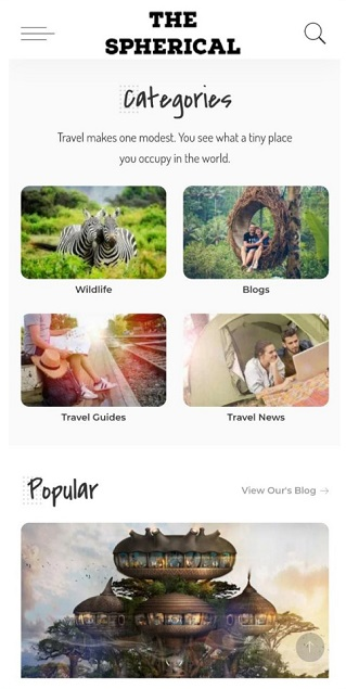 India's first travel and wildlife based App 'The Spherical' launched