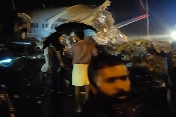 Dubai-Kozhikode Air India Flight crashes in Kerala 3 feared killed