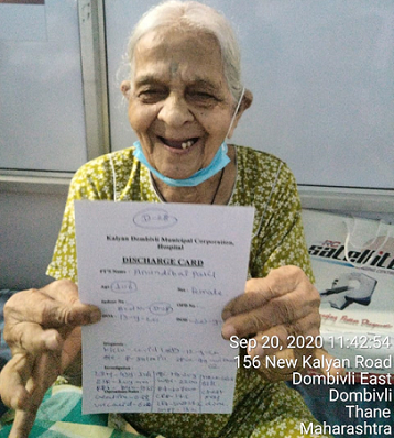 106-year-old woman defeats COVID-19 in Maharashtra