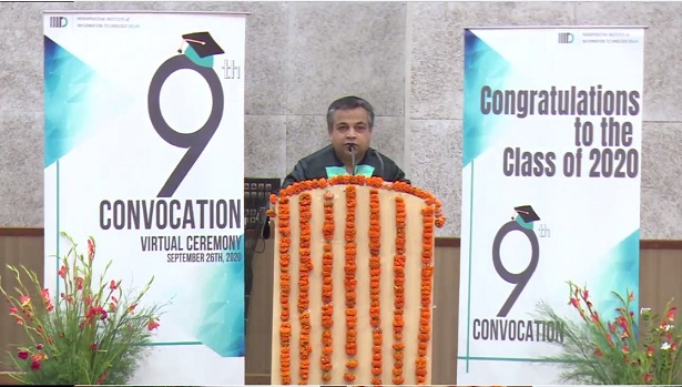 IIIT-Delhi Organises 9th Convocation Virtually