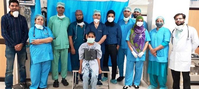 AMU: JNMC surgeons remove 17-year old's rare cardiac tumour