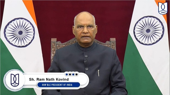 JNU reflects all shades of Indian culture, says President Kovind