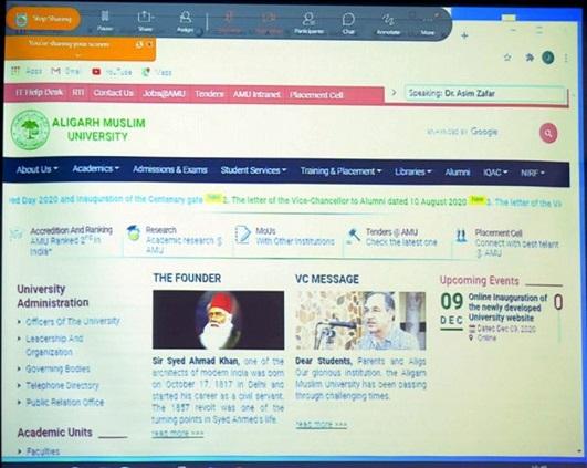 Amu Launches New Website The Indian Awaaz Uss nimitz remains in persian gulf 'due to iran threats against trump. amu launches new website the indian awaaz