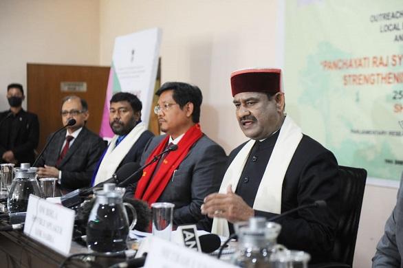 Meghalaya: Lok Sabha Speaker inaugurates outreach program for local bodies of North East