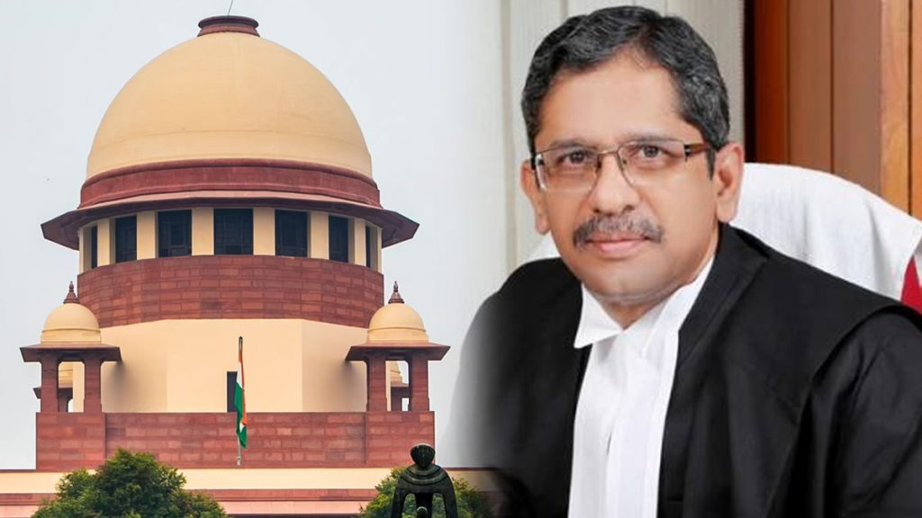 Justice Nuthalapati Venkata Ramana takes oath as 48th Chief Justice of India