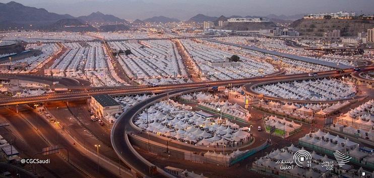 Mina, the City of Tents in Saudi Arabia