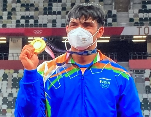 THE GOLDEN BOY OF INDIA